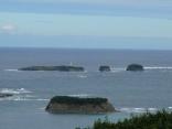 対馬最北端 三つ島灯台ここから国境の彼方へ 超一級のポイント