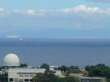 対馬最北端 海栗島の彼方 韓国 釜山見えていますか