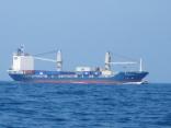 外国船今日も釜山港へ