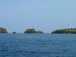 対馬最北端 三つ島です