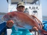 名古屋市の向井さん真鯛81㎝