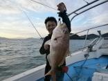 真鯛75cm・5kg(タイラバ)