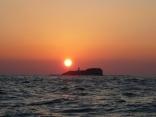 日本最西端 対馬島最北端の夕日