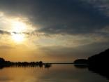 大神港の朝