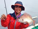 第1回日立沖真鯛釣り大会