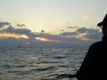 沖の瀬・三界のポイント付近 強風の為 東側一重だしポイントへ