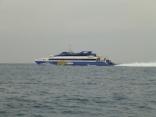 シーフラワー高速艇釜山へ帰港 本船も釣果悪しで比田勝港へ帰港へ