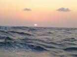 西南西の風9m~16mへ風強し 波高し