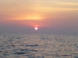 本船初釣り 沖の三界付近