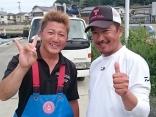 7/19 川口直人さん乗船