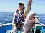 釣果5月15日午前便 マダイ70センチまで8枚、チダイ2枚、ウマズラ2枚、イシダ