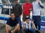 6月22日(土)金田湾沖ヒラメ釣り