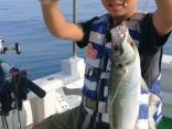 船釣り初挑戦でレンタルタックルを上手に使いこなしてお見事!