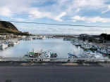 港が目の前