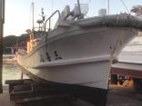 船艇塗装終了