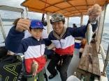 初心者専門の釣り船でございます。初めて釣りをする方もご安心ください!