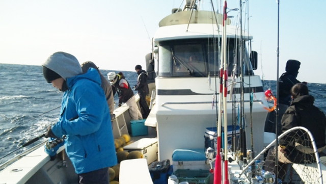 社員旅行の仕立船