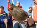 ヒラメ 97cm 9.5kg