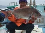 真鯛6.4キロ