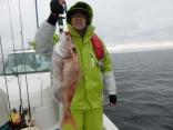 70cmを釣り上げた青森からお越しの須藤さんです。