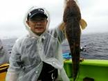 船釣り初挑戦で3種全て釣り上げ成功された方♪