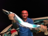 10/8(日)ドラゴン! タチウオ釣り2回目との事でした。