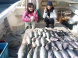 ■11/3(金)佐賀県森崎さん大坪さん の釣果は ●ヨコワ4kg~3kgを20尾