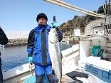 2/18前田さんdメンバーがヒラマサ15kg