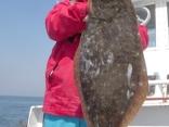 ヒラメ 6.4kg