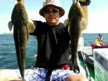 日中【マゴチ&マダコ乗合】人生初マゴチ釣り上げ成功された方3本釣り上げ成功