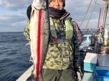 北海道2年目にしてマス釣り初体験!