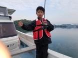 僕は1番大きなキス25センチ釣ったよ。
