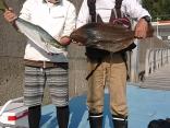 釣りイカダ、咲和丸にて